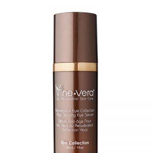 Resveratrol Age Defying Eye Serum with top