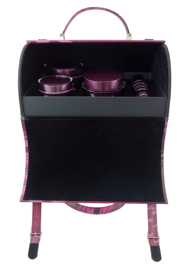 Pinot Noir Limited Edition Mini Suitcase Open