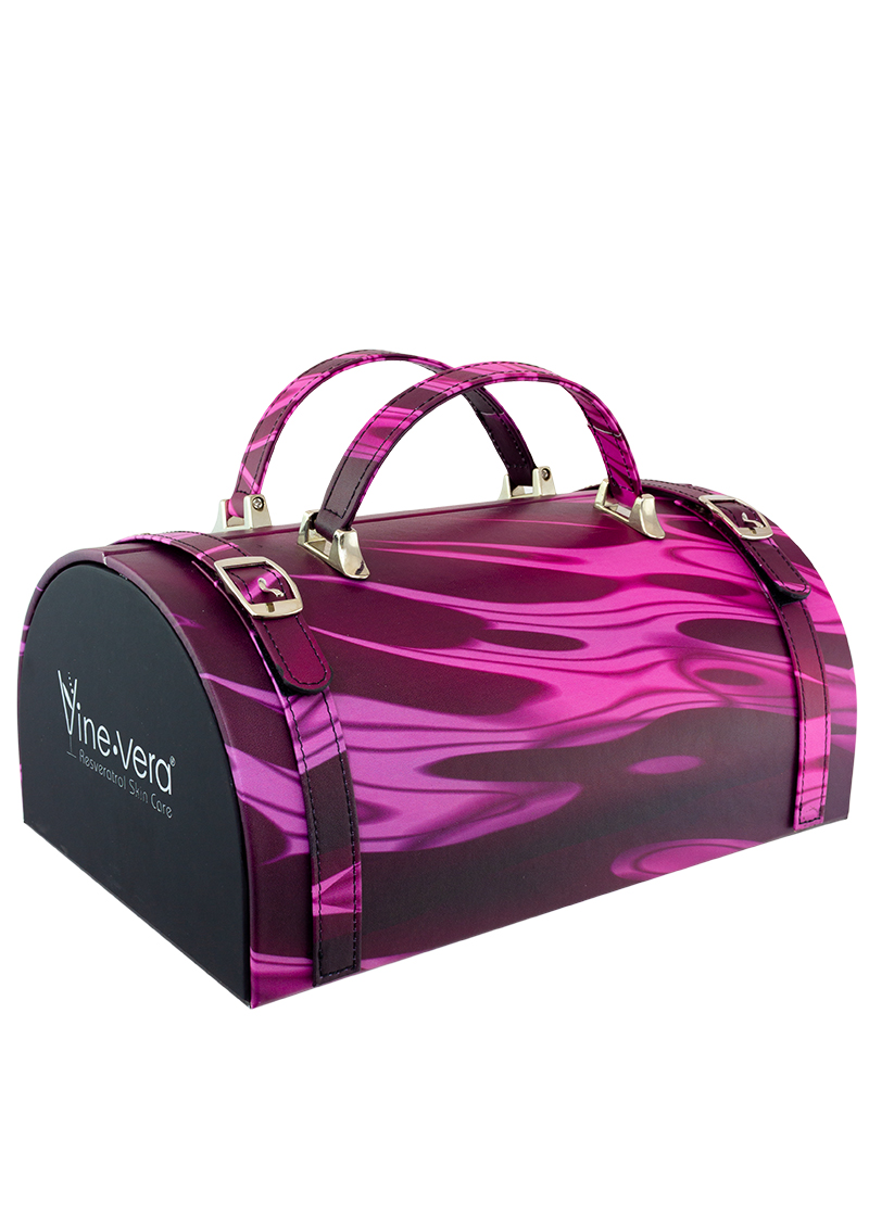 Pinot Noir Limited Edition Mini Suitcase Side