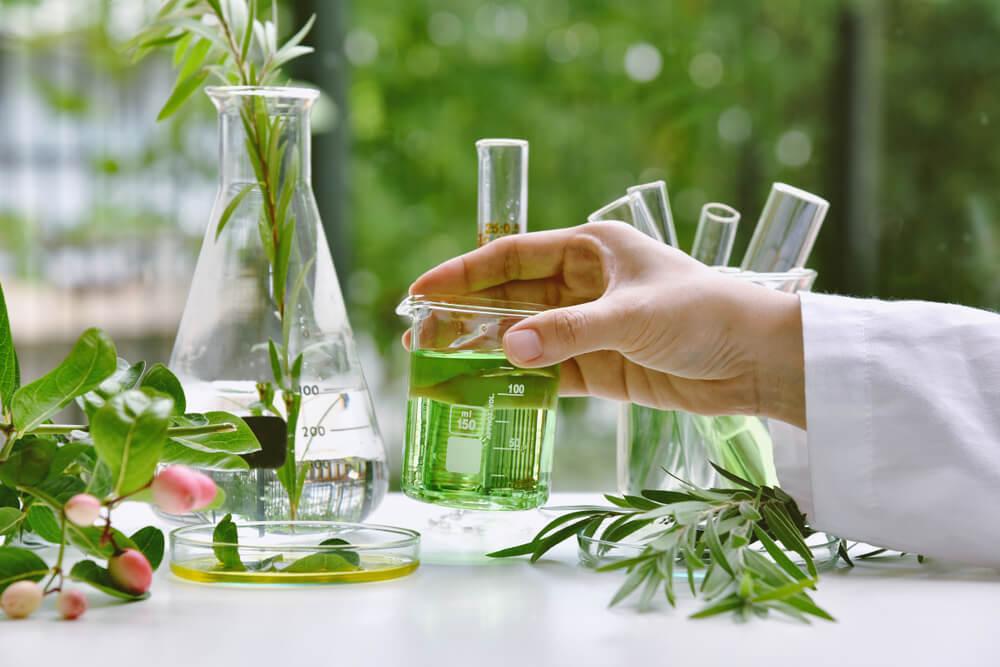 Botanicals in lab