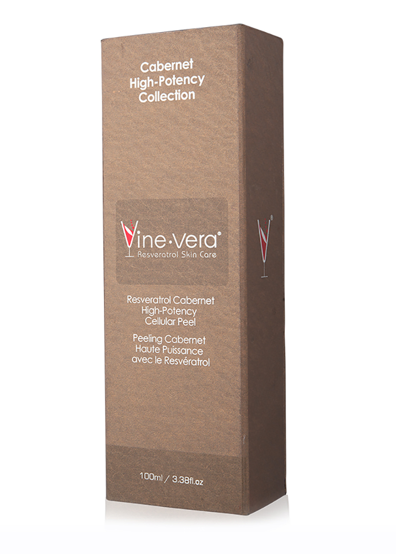 Cabernet High-Potency Celluar Peel inside it's case