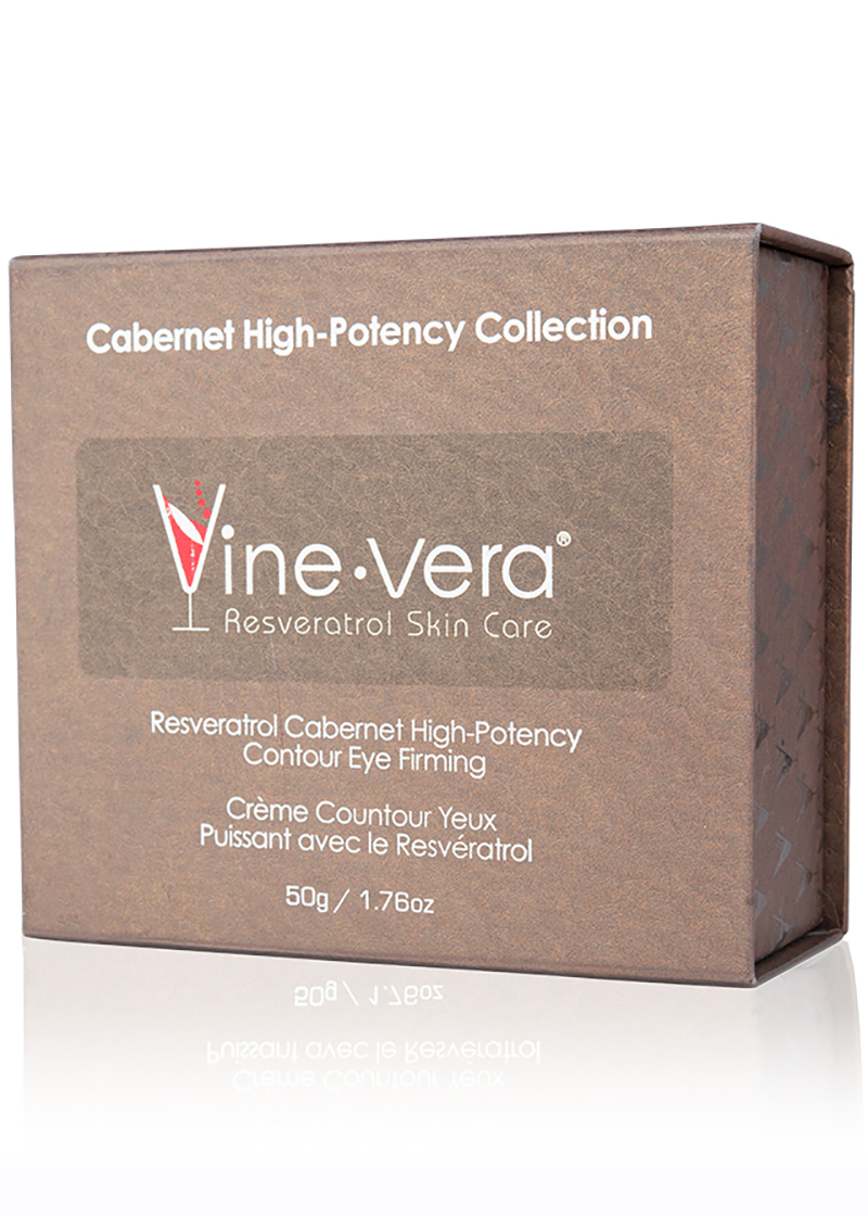 cabernet high potency contour eye firming cream in case