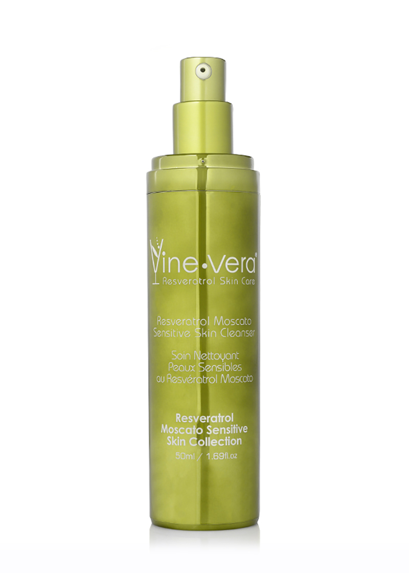 Moscato Sensitive Skin Cleanser without lid