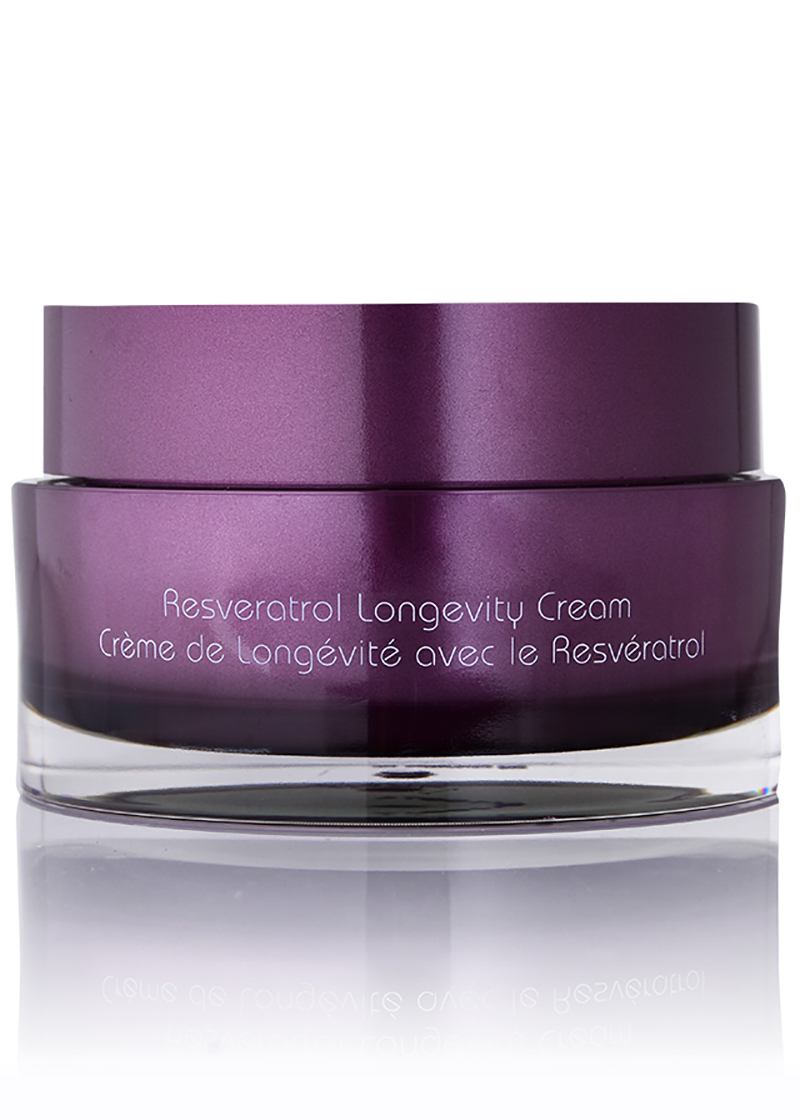 back view of Resveratrol Pinot Noir Longevity Cream