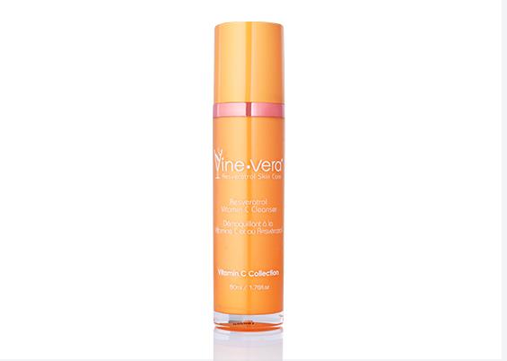 Vine Vera Resveratrol Vitamin C Cleanser
