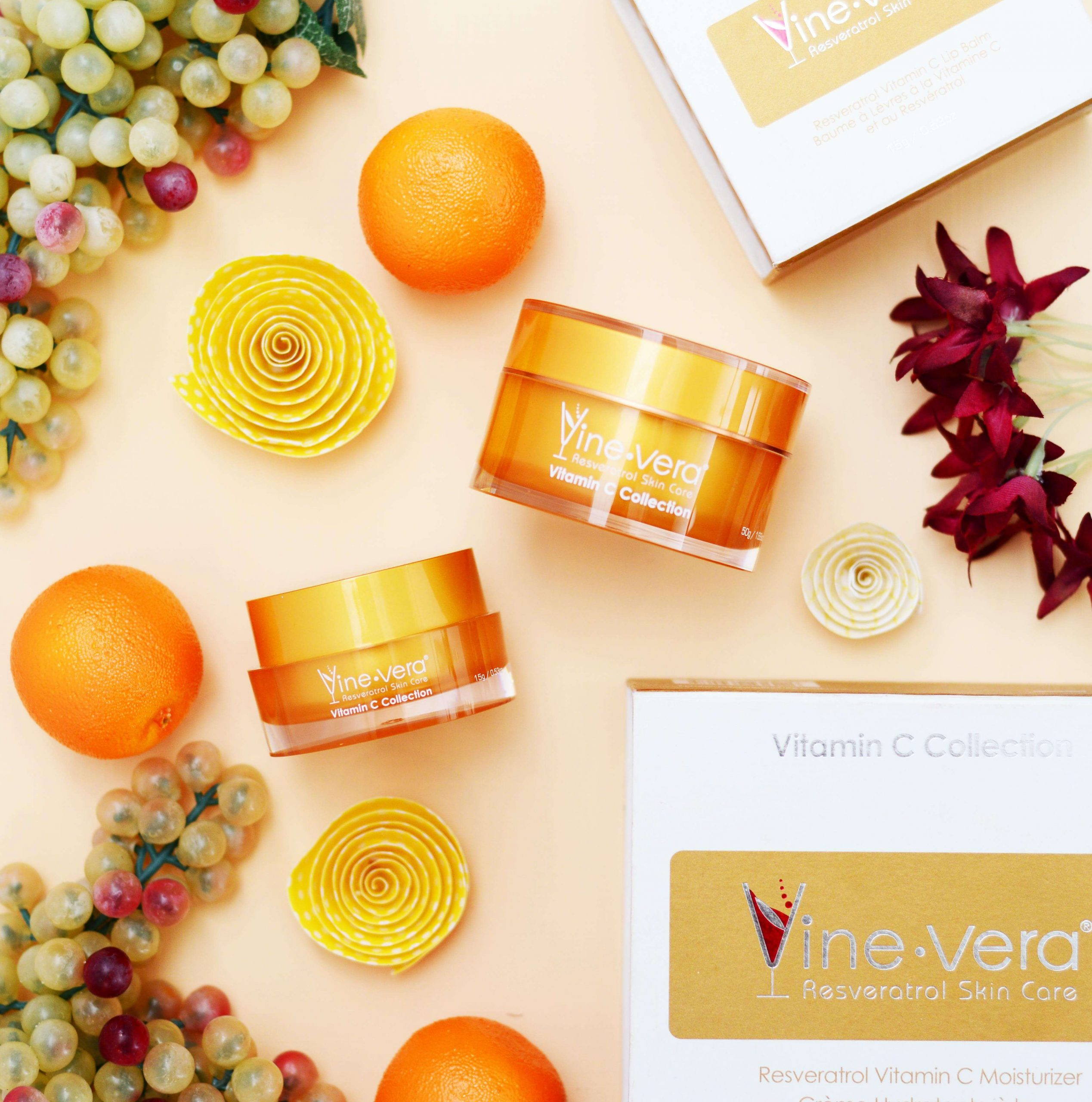 Resveratrol and Vitamin C products