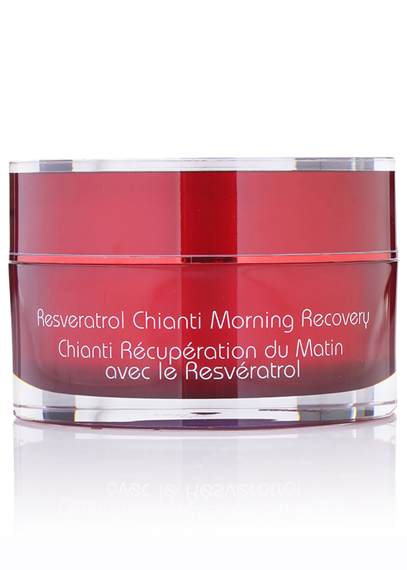 back view of Resveratrol Chianti Morning Recovery