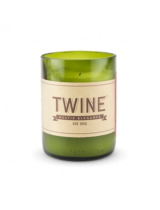 GRAPEVINE - UPCYCLED WINE BOTTLE UNSCENTED CANDLE